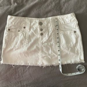 White True Religion Denim/Jean Skirt 29